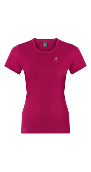 Odlo Shaila - Camiseta Running Mujer - rosa/rojo